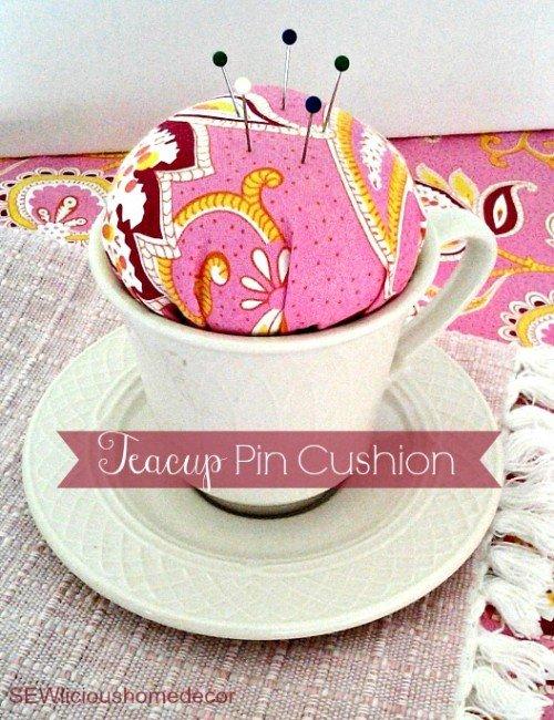 teapot pin cushion tutorial