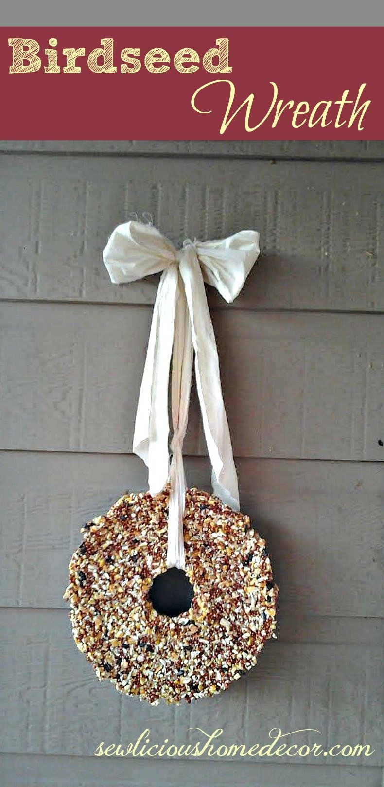 Birdseed Wreath Recipe