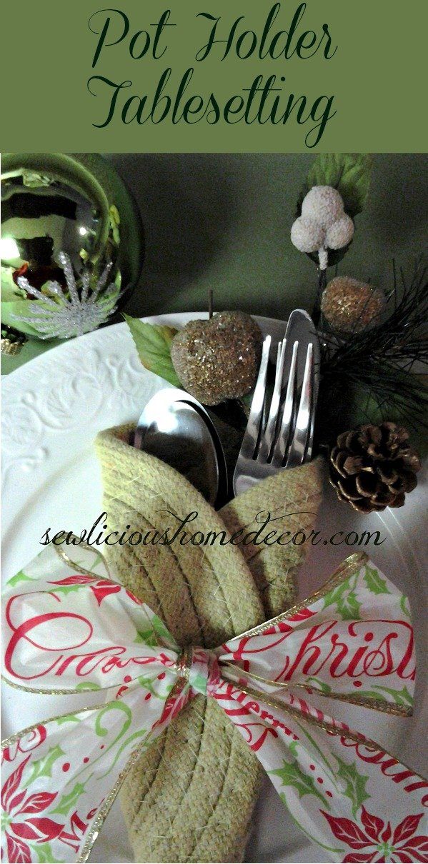 Pot Holder Table Setting sewlicioushomedecor.com