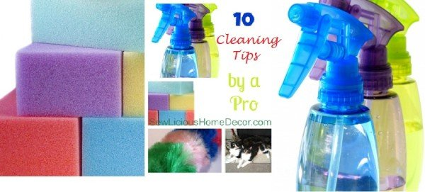 cleaning tips by a professional housekeeper