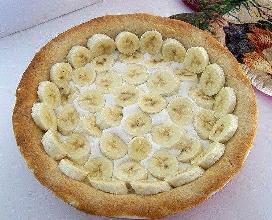 blueberry banana cream pie banana layer