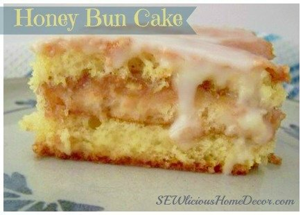 Honey Bun Cake-SEWlicious Home Decor