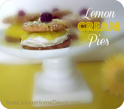 Lemon Cream Pies -