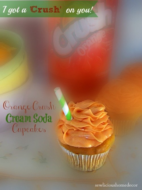 orange crush cream soda cupcakes