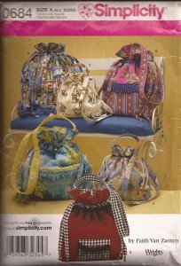 Simplicity Hand Bag Pattern #0684