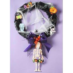 halloween Ghoul Wreath