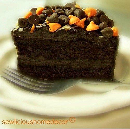 halloween chocolate fudge pudding cake recipe