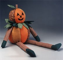 halloween jolly golly pumpkin doll