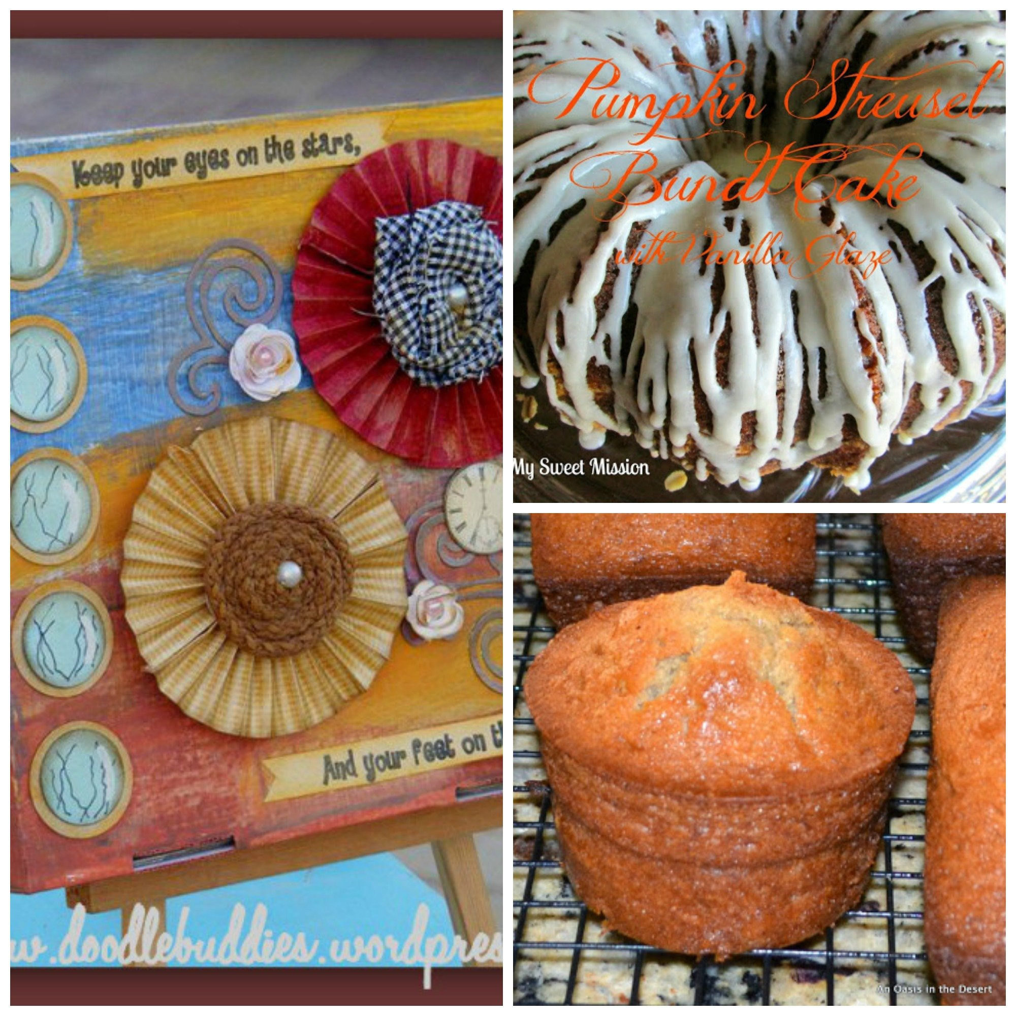 Fall Roundup And Blog Hop-Share Your Crafts And Recipes