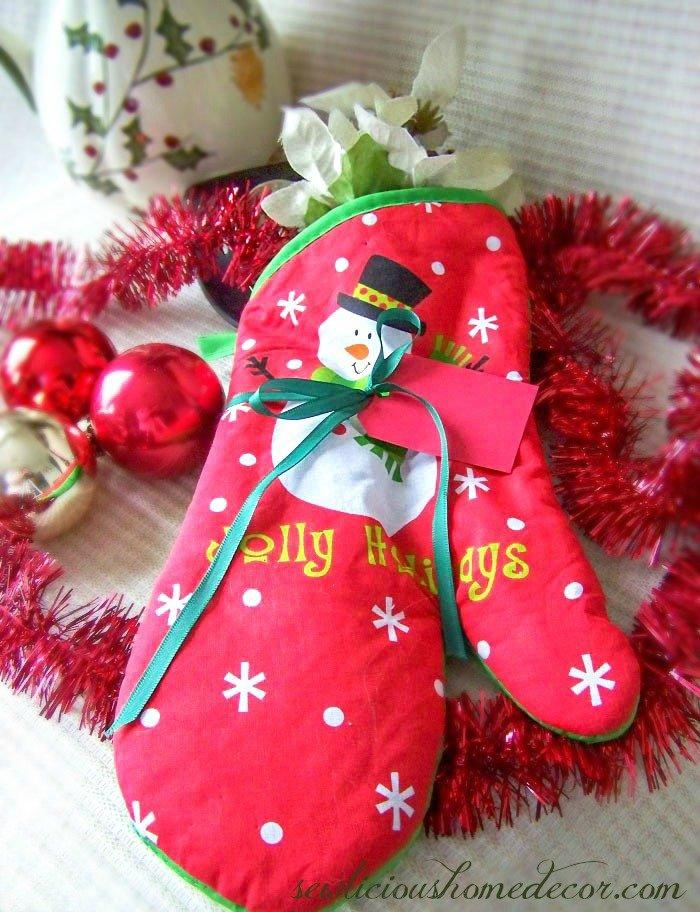 Oven Mitt Gift Set