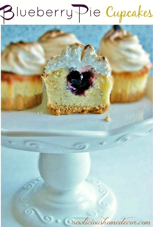 Best-Blueberry-Pie-Cupcakes from sewlicioushomedecor.com