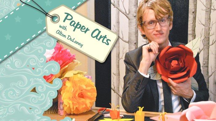 Paper crafts class