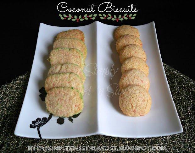 Coconut Biscuits 1