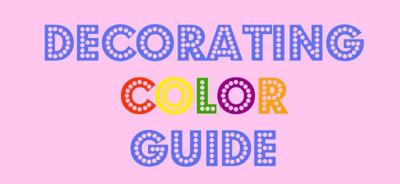 Decorating Color Guide
