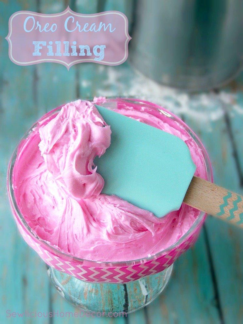 Oreo Cream Filling