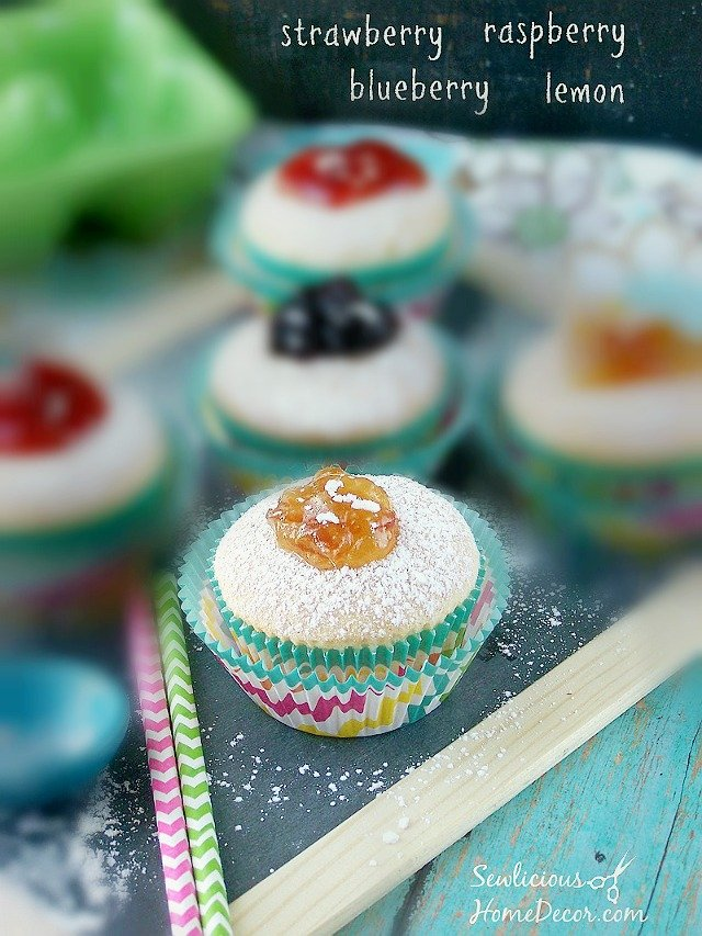 Best Homemade-Fruit filled-or-Jelly-Filled-Donut-#Cupcakes-from-sewlicioushomedecor