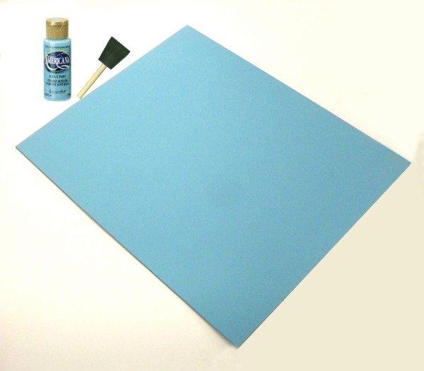 DIY Dry Erase Message board tutorial