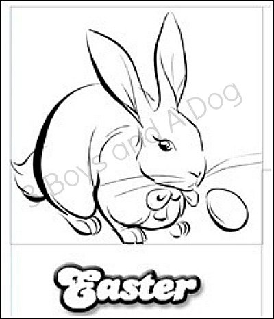 Easter-Coloring-Page - Copy