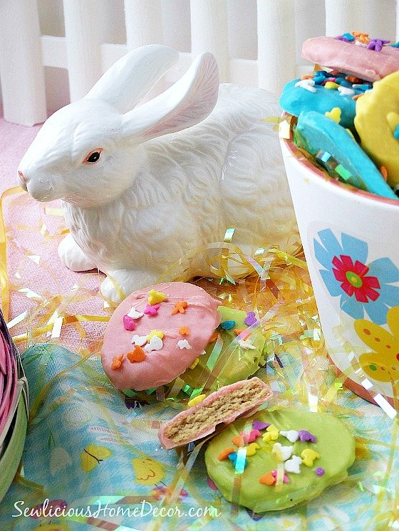 #Easter Egg and Peanut Butter #Cookies at sewlicioushomedecor
