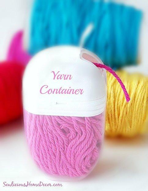 Tic Tac Yarn Holders at sewlicioushomedecor