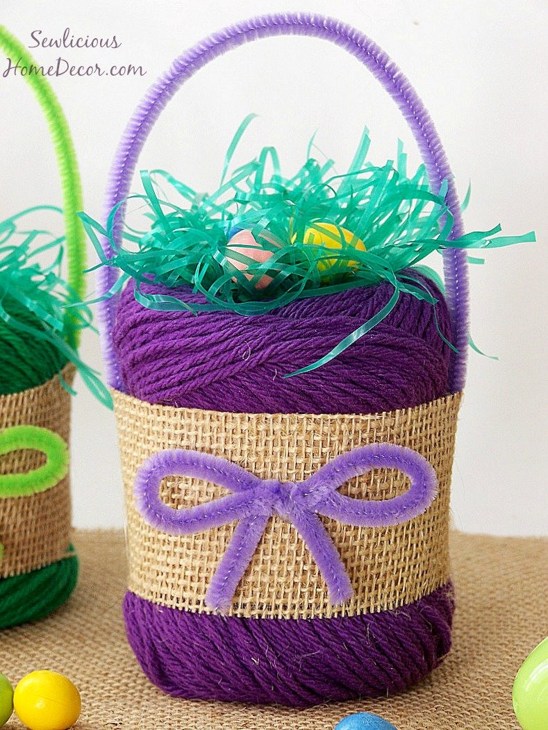 Yarn Easter Basket