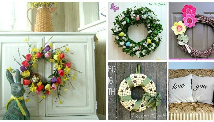 wreath features