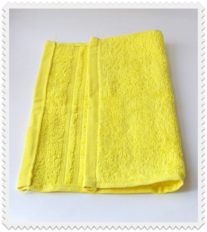 Fold washcloth