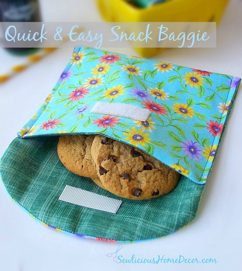 Quick and Easy Snack Baggie 10