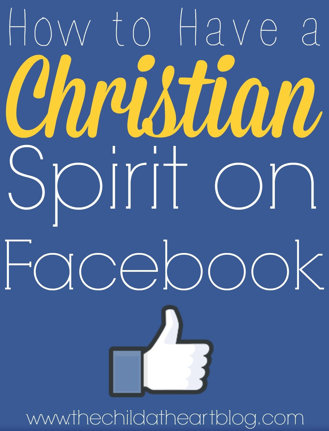 christian spirit on Facebook