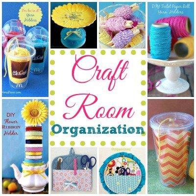 Craft Room Features at sewlicioushomedecor.com