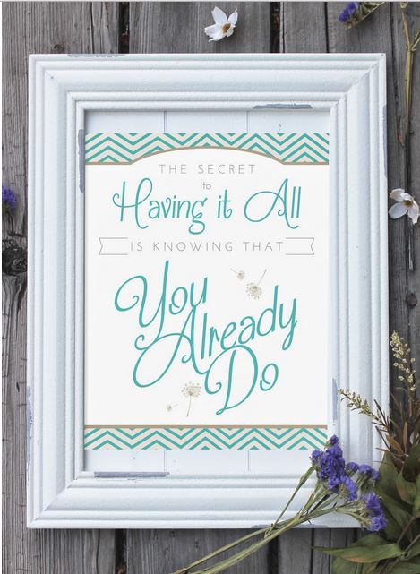 Having it all printable