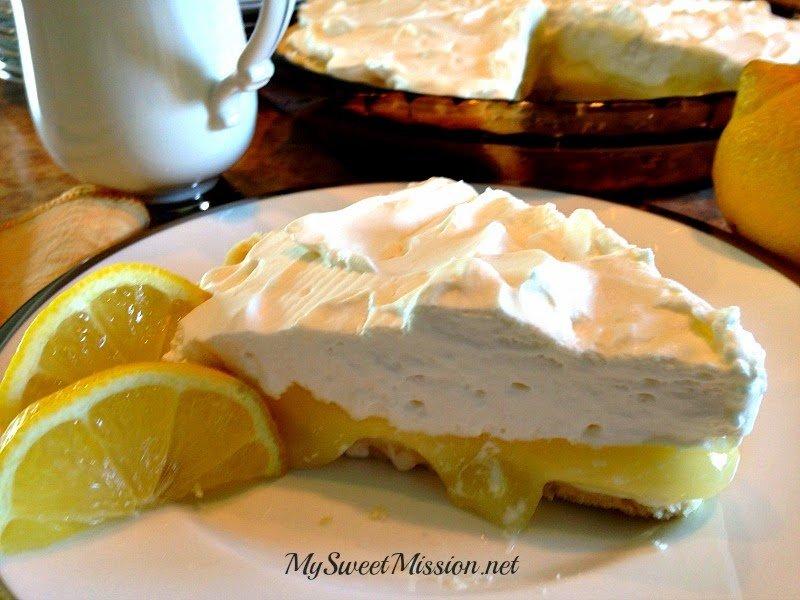 Lemon Supreme Shortbread Pie 3
