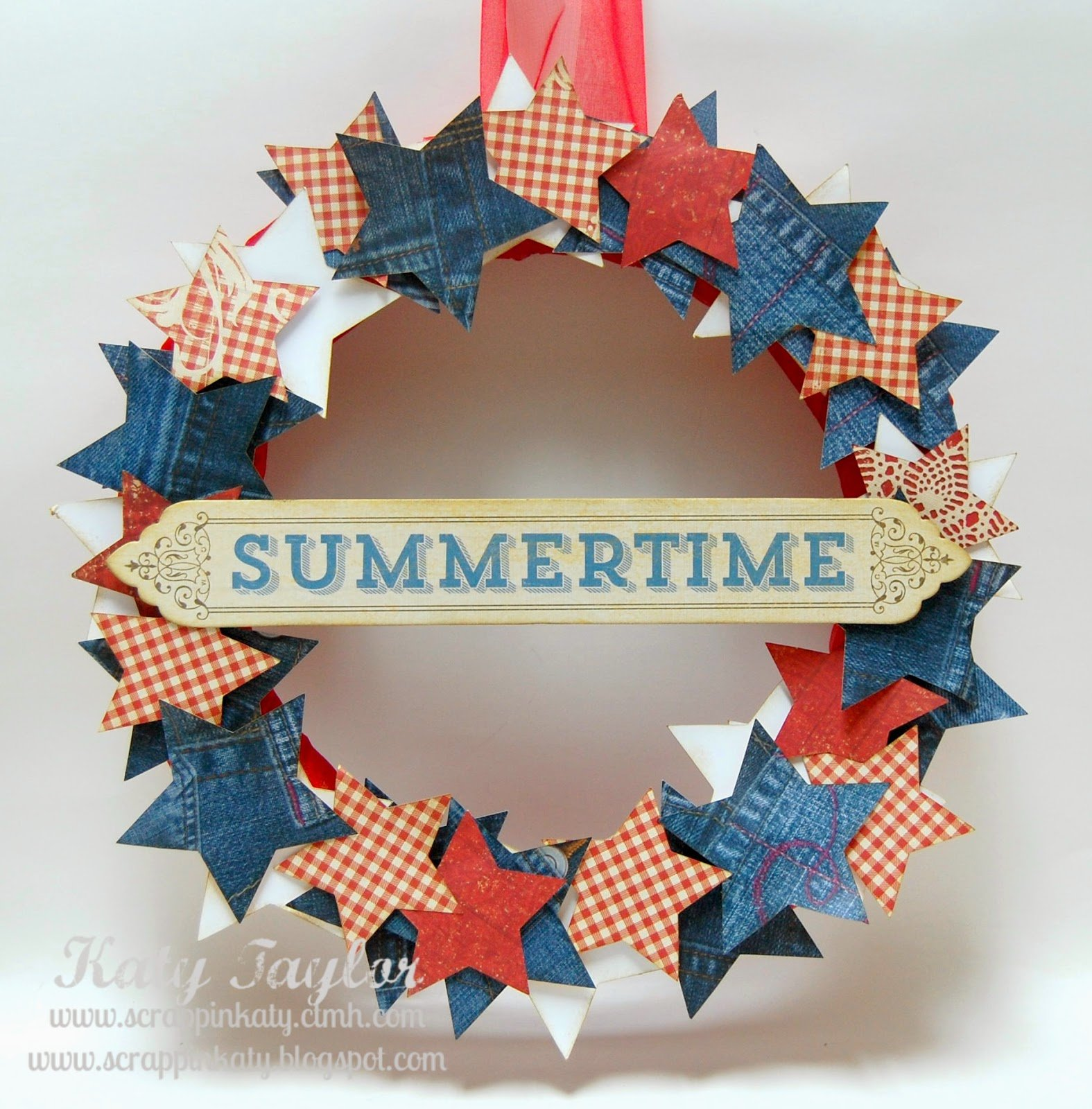 Summertime Wreath