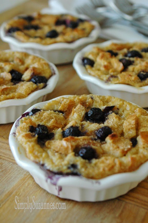lemon blueberry bread pudding 13-2