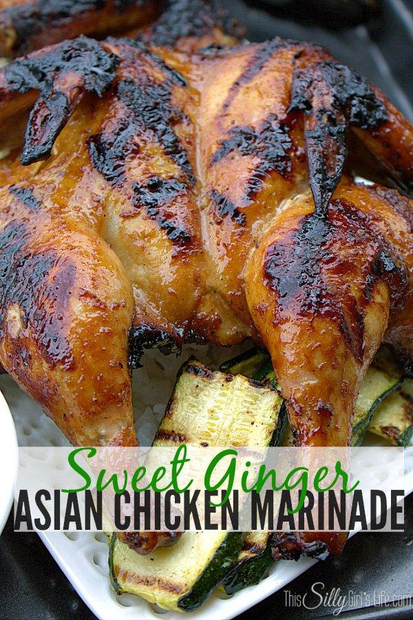 sweet ginger asian chicken marinade