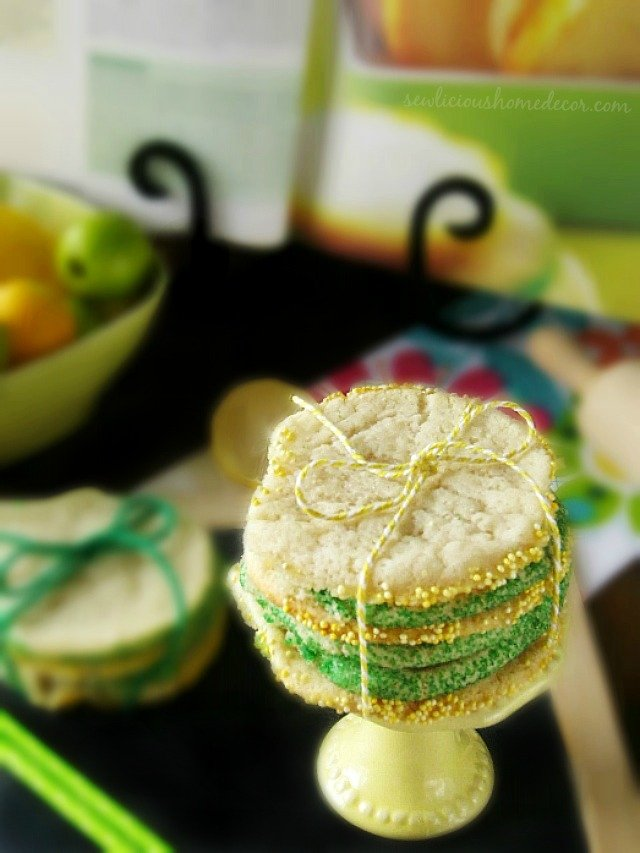Lemon and Lime Cookies
