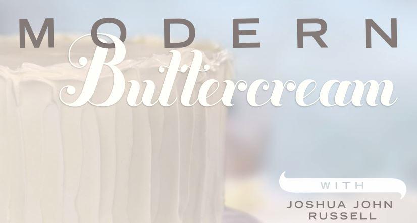 modern buttercream cake icing free class