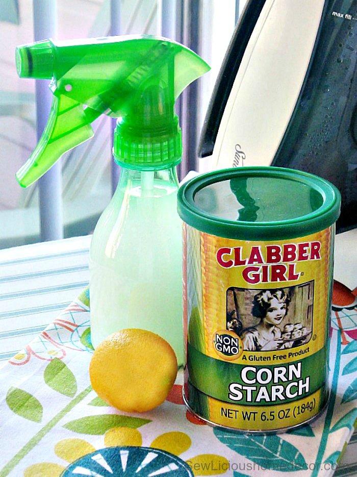 Best Homemade Spray Starch
