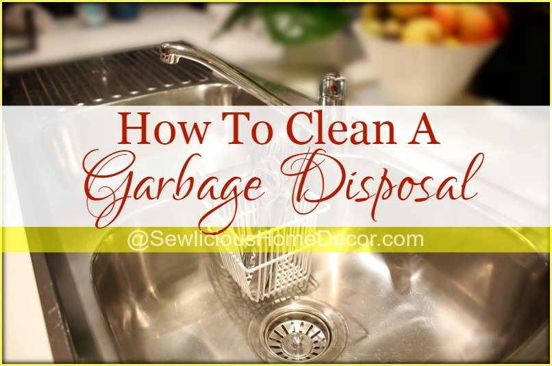 How To Clean A Garbage Disposal at sewlicioushomedecor.com