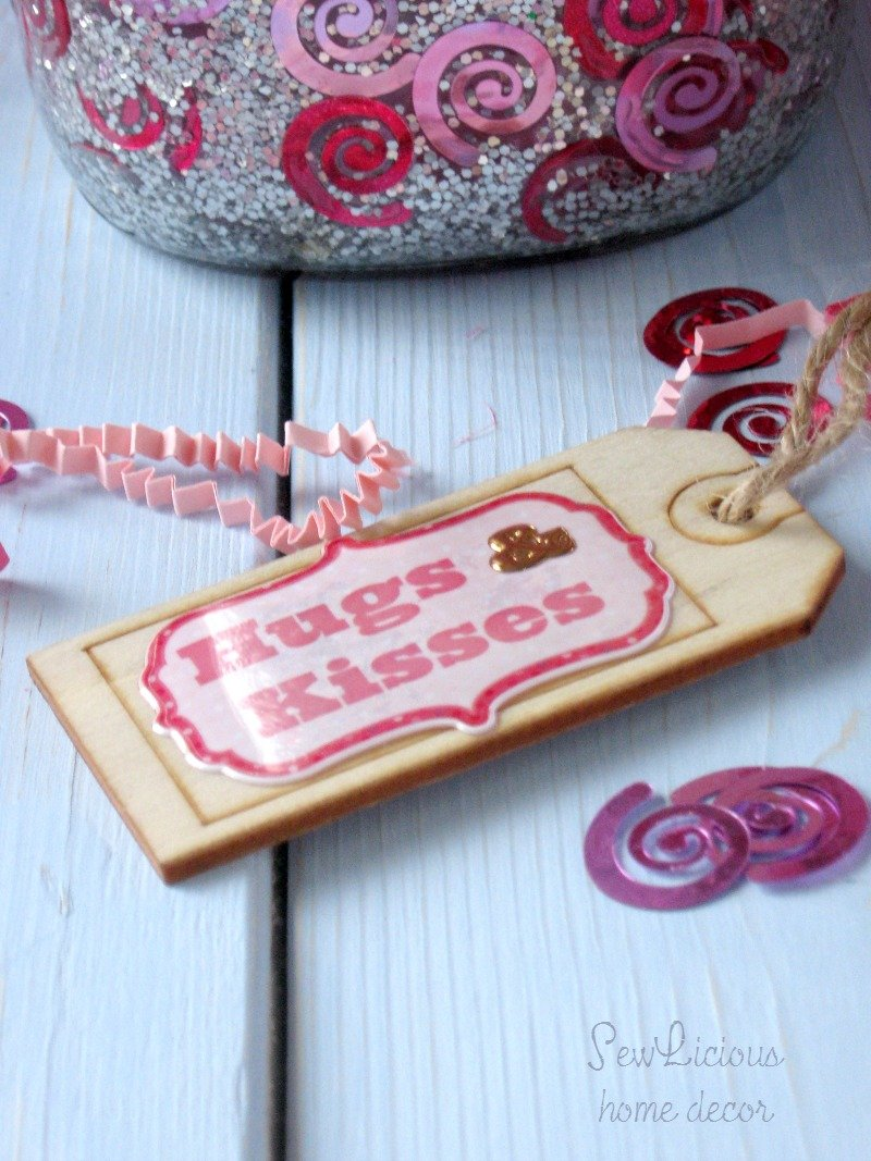 Valentine Mason Jars Labels