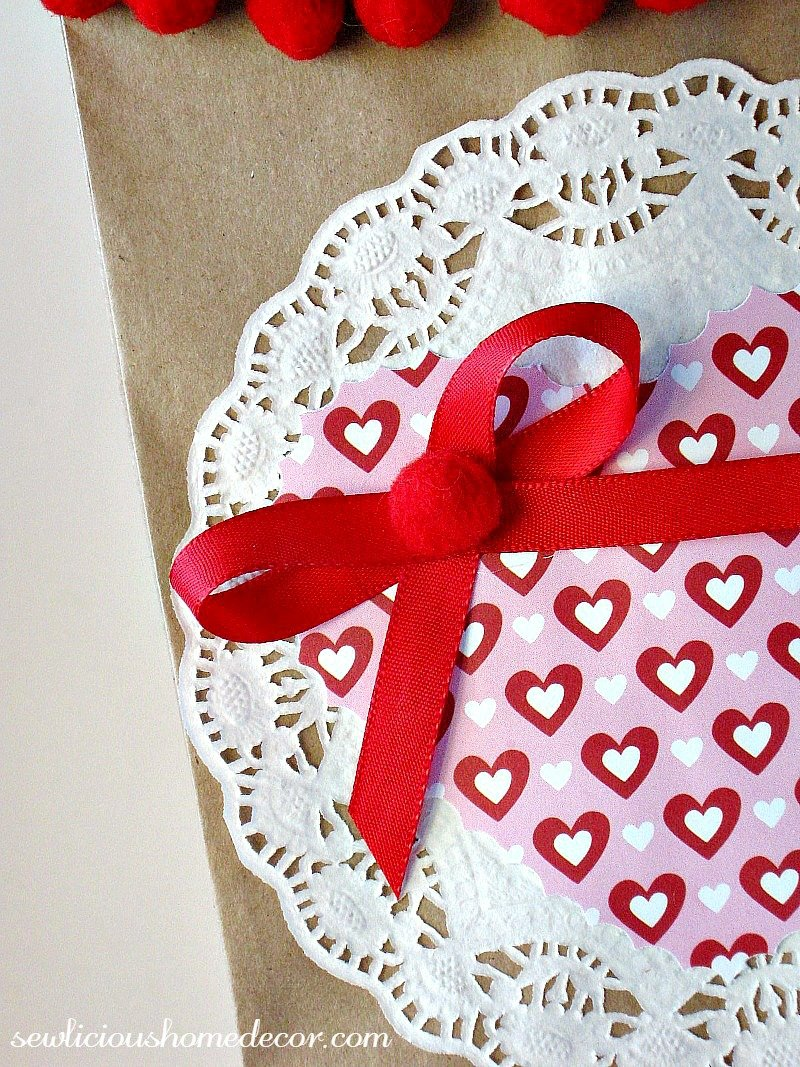 Valentine Treat Bags sewlicioushomedecor.com
