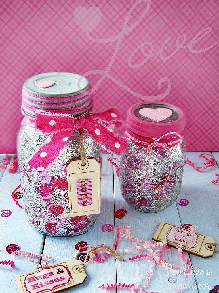 Pink Confetti-Glitter-Valentine-Mason-Jars-sewlicioushomedecor.com_