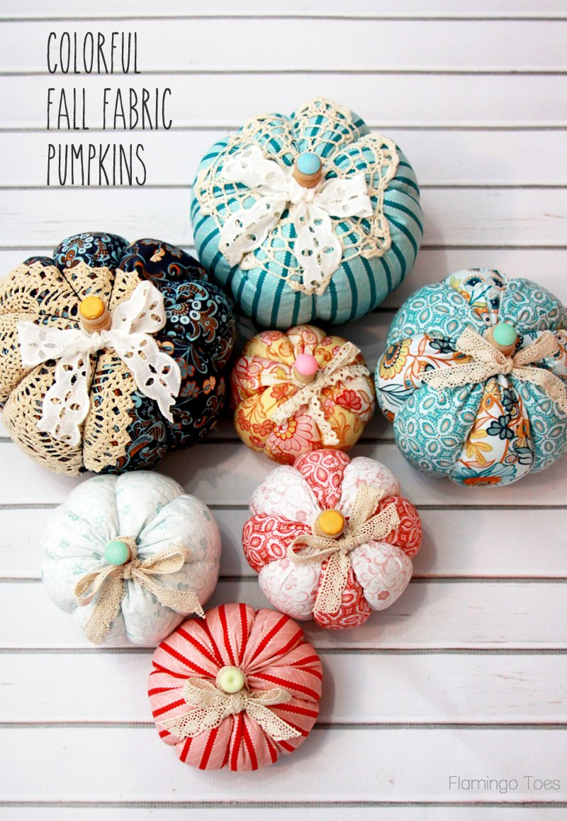 Easy-Fall-Fabric-Pumpkins
