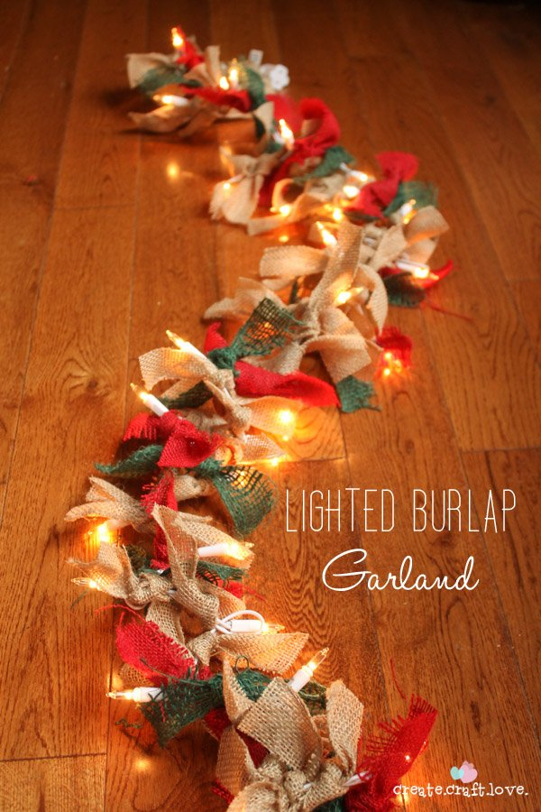 50 burlap christmas decorations burlapgarlandbeauty1 solutioingenieria Gallery
