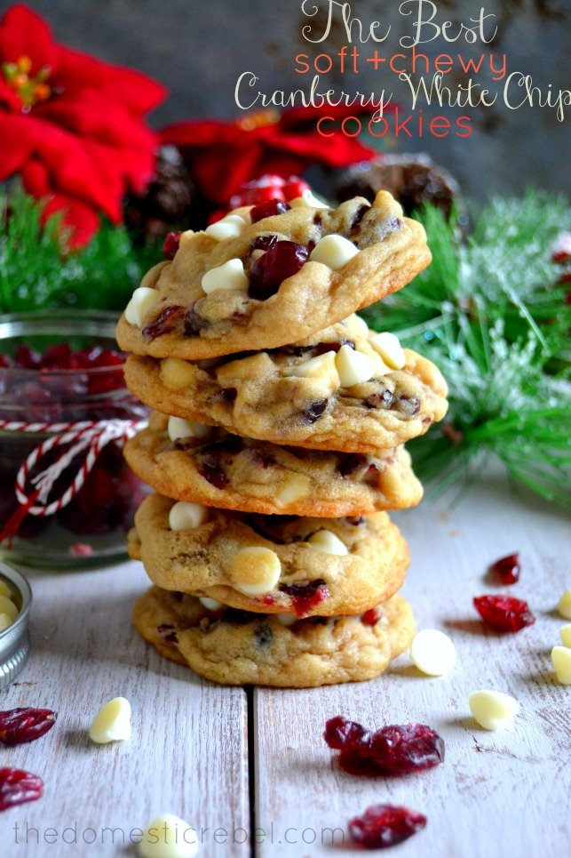 Cranberry-White-Chip Cookies