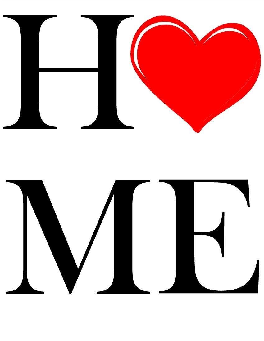 Heart Home Valentine Printable sewlicioushomedecor.com