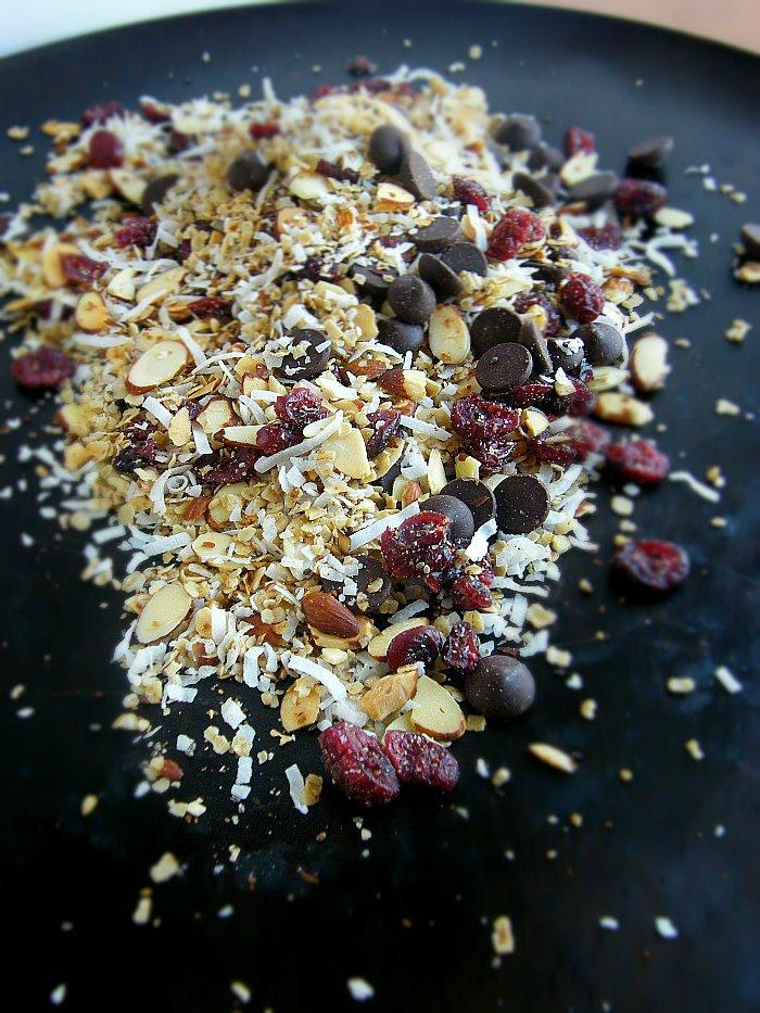 Homemade Coconut Almond Granola sewlicioushomedecor.com