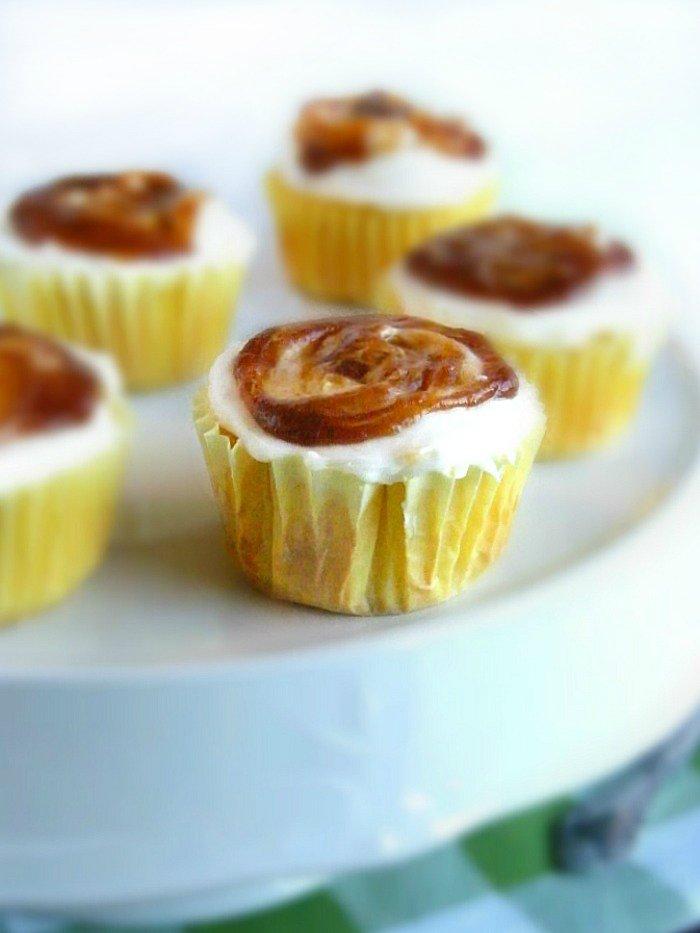 Apple Butter Jelly Cupcakes sewlicioushomedecor.com