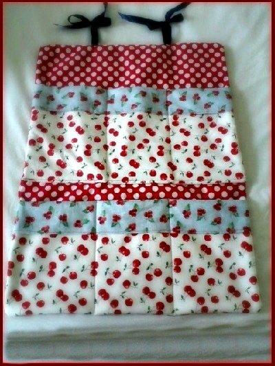 fabric wall organizer