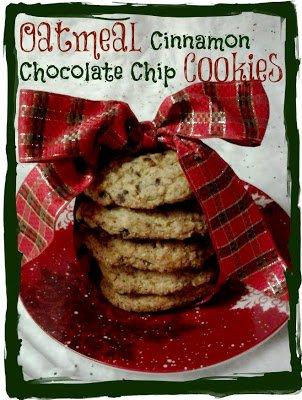 oatmeal chocolate chip cinnamon cookies